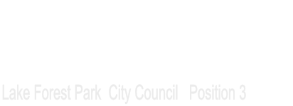 Re-Elect John Wright For Lake Forest Park City Council (pos 3)